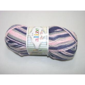 Alize Baby Best batik 100g - 6664 melír dúhový
