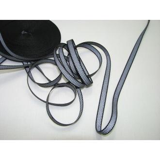 Reflexná páska 0,8cm šedá