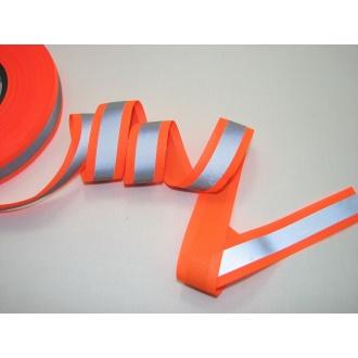 Reflexná páska 3cm oranžová
