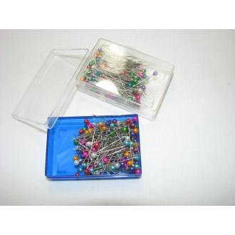 Špendlíky so sklenenou hlavičkou