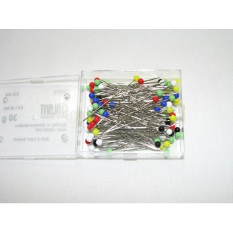 Špendlík so sklenenou hlavičkou 30g