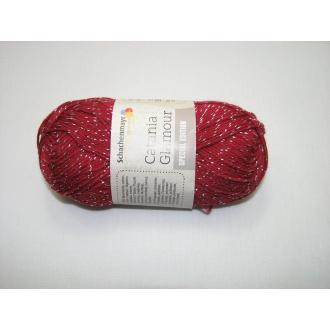 Catania glamour 50g-00132 červená