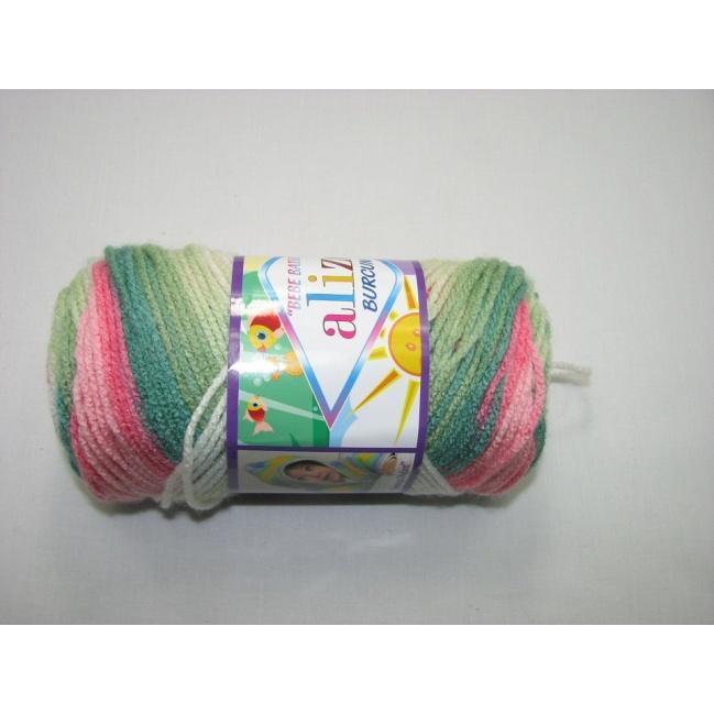 Alize Bebe Burcum batik 100g- 4407