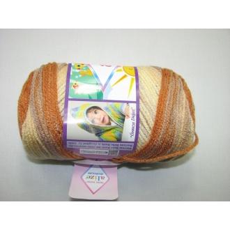 Alize Bebe Burcum batik 100g - 6616