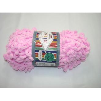 Alize Puffy fine 100g - 194 ružová