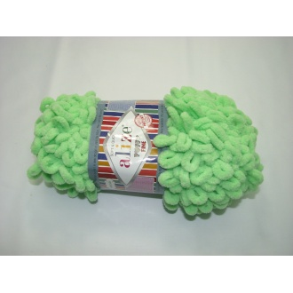 Alize Puffy fine 100g - 516 sv.zelená