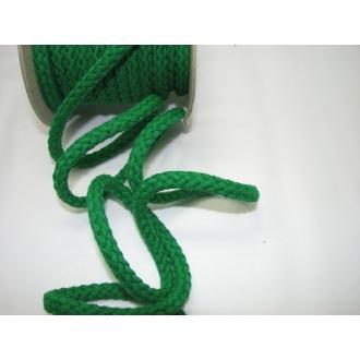 Šnúra bavlna odevná,aranžérska,zelená