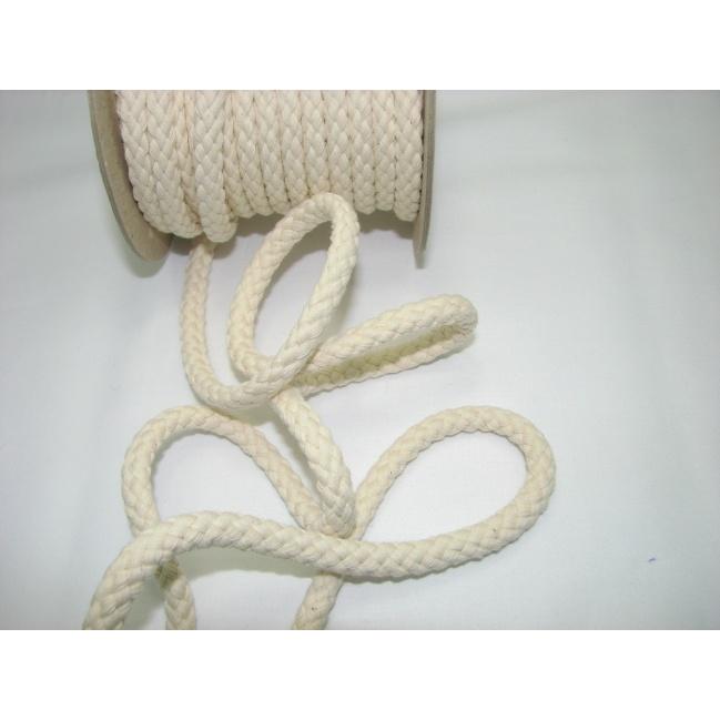 Šnúra bavlna odevná,aranžérska,smotanová
