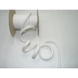 Šnúra bavlna odevná,aranžérska,biela