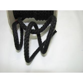 Šnúra bavlna odevná,aranžérska,čierna