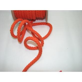 Šnúra bavlna odevná,aranžérska,oranžová