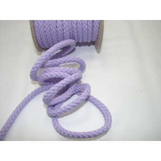 Šnúra bavlna odevná,aranžérska,fialová