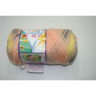 Alize Bebe Burcum batik 100g- 6953