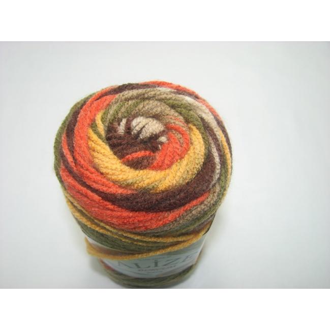 Alize - Burcum batik 100g  farba  6060