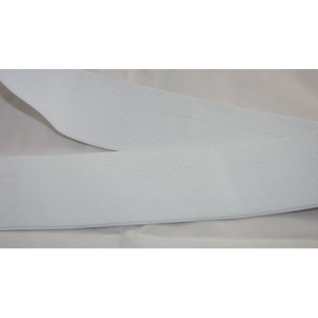 Guma odevná biela
