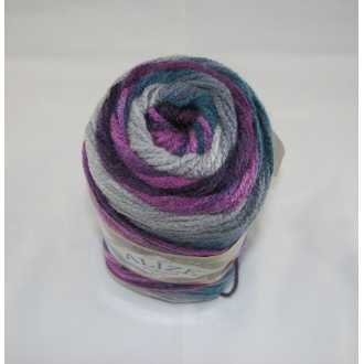 Alize - Burcum batik 100g farba 3366 tyrkysovo ružová