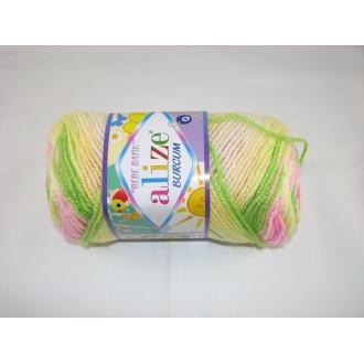 Alize Bebe Burcum batik 100g- 2613