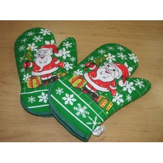 Chňapka kuchynská s magnetom motív Vianoce