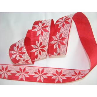 Vianočná stuha 4cm