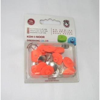 Gombík zapínací dressking oranžový