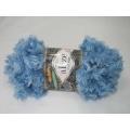 Alize Puffy FUR 100g - 6106 modrá