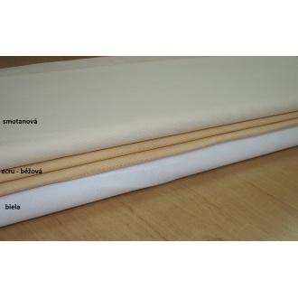 Kanava č.7 ,š.140cm biela