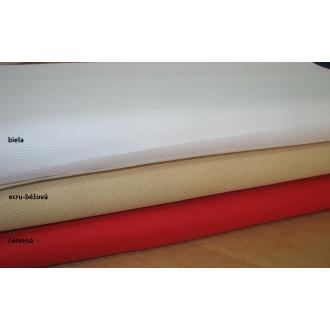 Kanava č.4,š.140cm červená