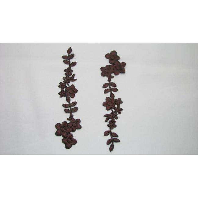 Nažehľovacia aplikácia - kvet
