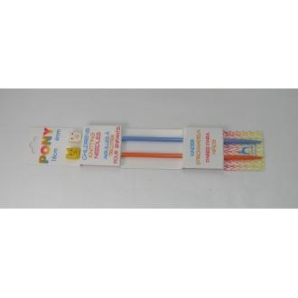 Ihlice pletacie- 18cm 4mm DETSKÉ