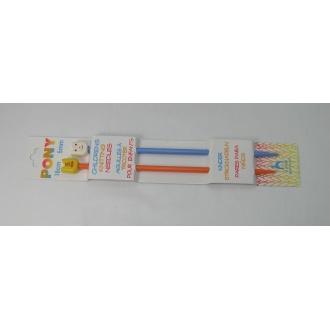 Ihlice pletacie- 18cm 5mm DETSKÉ