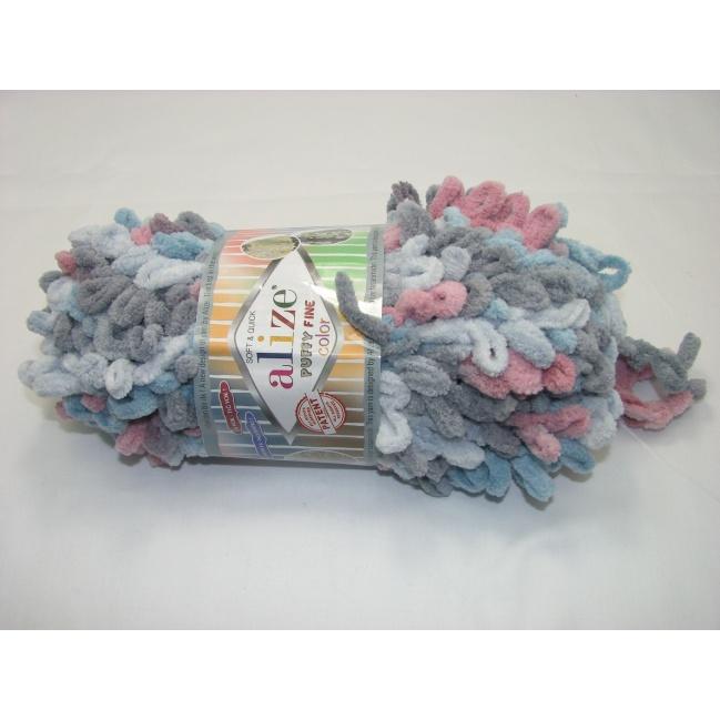 Alize Puffy fine color 100g - 6041