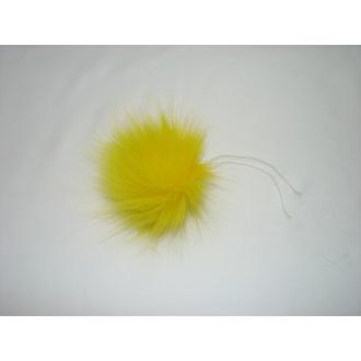 Brmbolec 9cm žltý