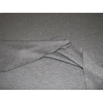 Patent rebrový tmavo šedý melír š.85cm