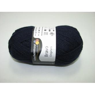 Schachenmayr Bravo 50g - 08223 tmavo modrá