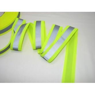 Reflexná páska 3cm žltá