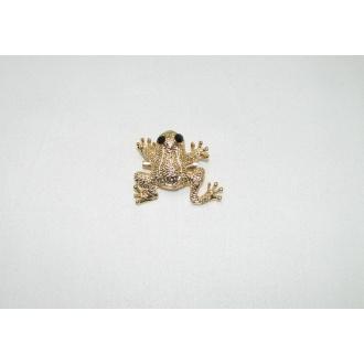 Brošňa žaba- 1ks
