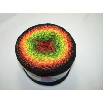 YarnArt Flowers 250g - 267 mix výrazných farieb