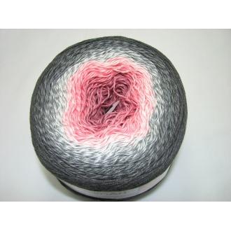 YarnArt Flowers 250g - 279 šedo ružová