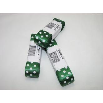 Stuha saténová š.25mm, zelená