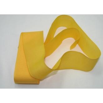 Stuha taftová 40mm - žltá
