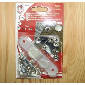 Nitovacie gombíky WUK - 13,5mm