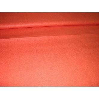 Bavlna jednofarebná oranžová  jemný vzor
