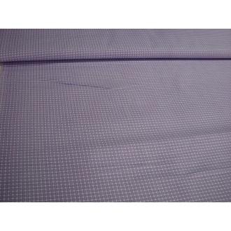 Kocka fialkovo biela