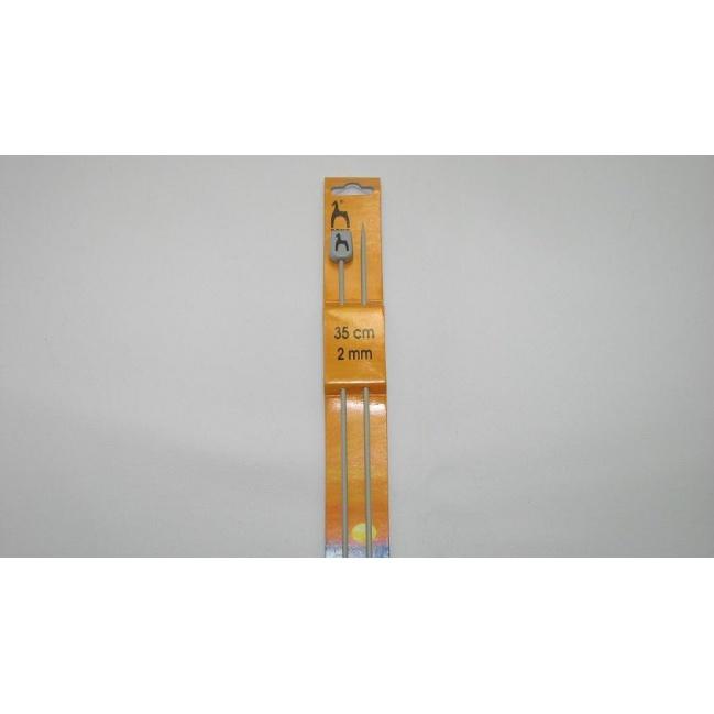 Ihlice pletacie- 35cm č.2