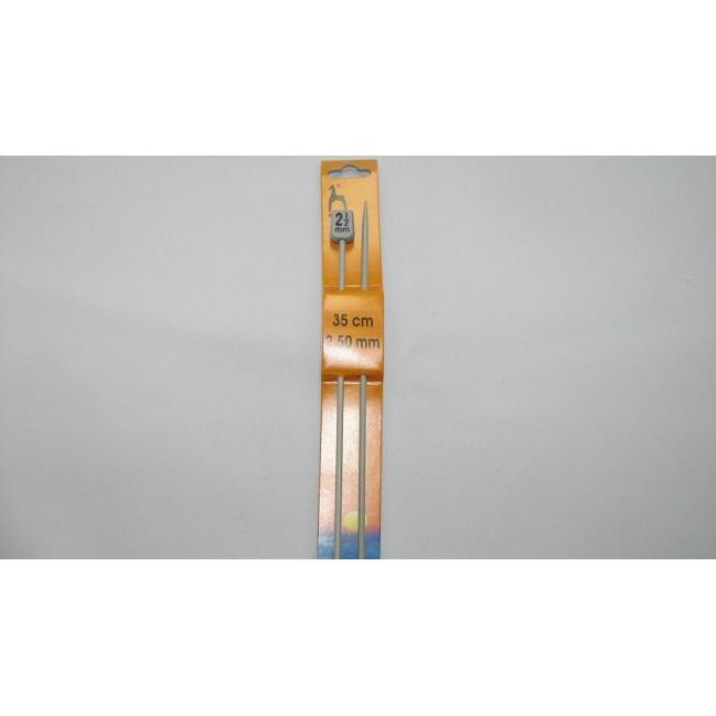 Ihlice pletacie- 35cm č.2,5