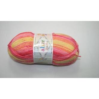 Alize Baby Best batik 100g - 7073 oranžovožltý melír