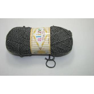 Alize Baby Best batik 100g - 601 čierny melír