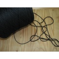 Guma guľatá na rúška orig. 2,5mm, čierna
