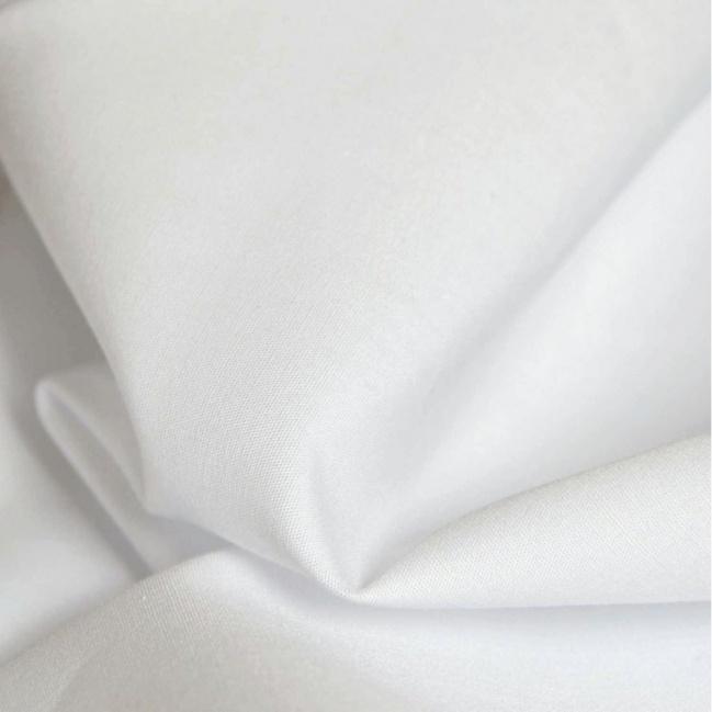 Bavlna 100% - biela damašek -rúška