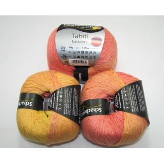 Tahiti Fashion 50g - 7606 oranžovo žltá